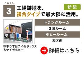 case.3 工場跡地を、複合タイプで最大限に活用。