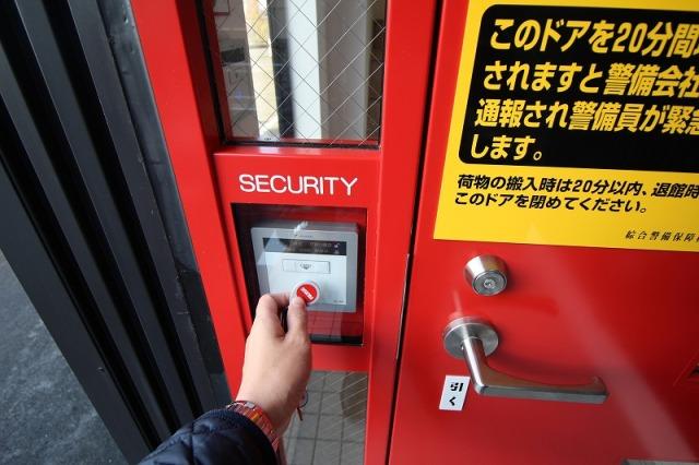 津久野駅北ライゼボックスのセキュリティー
