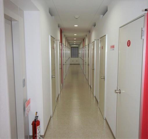 ライゼボックスの廊下